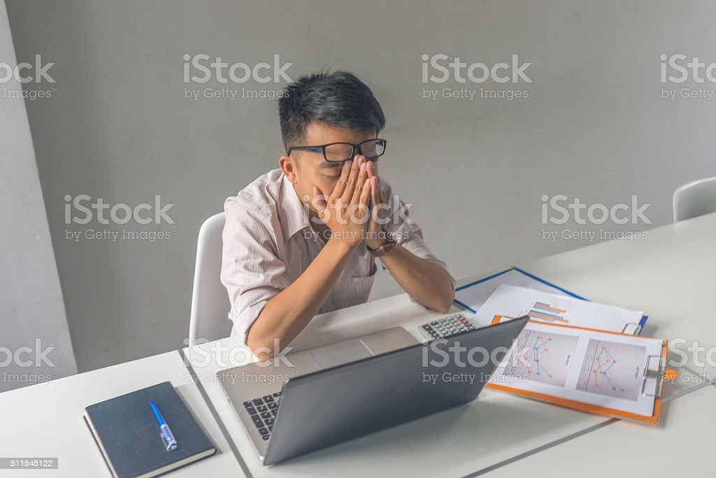 Doing business is not easy as people often think stock photo