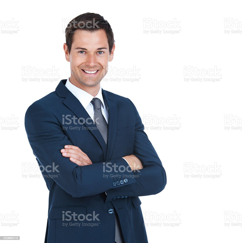 Doing business positively stock photo
