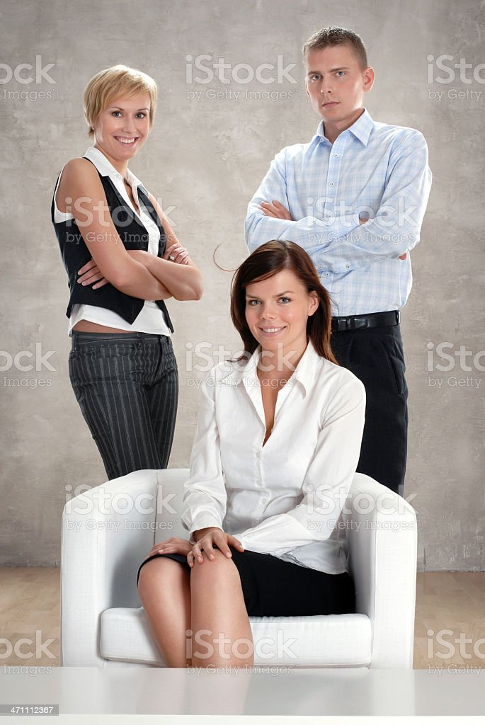 Doing our business royalty-free stock photo