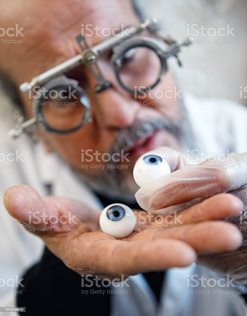 Doktor Oftalm stock photo