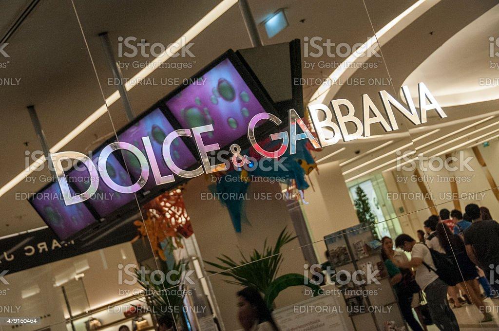 Dolce and Gabbana stock photo