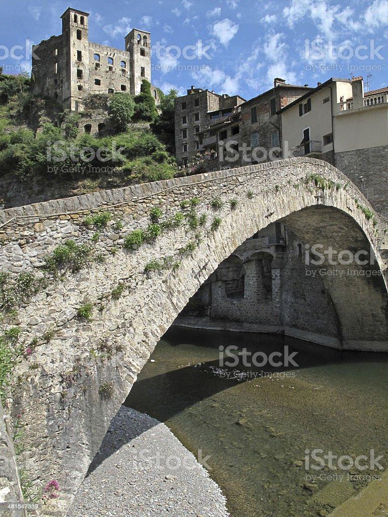 Dolceacqua, Imperia stock photo