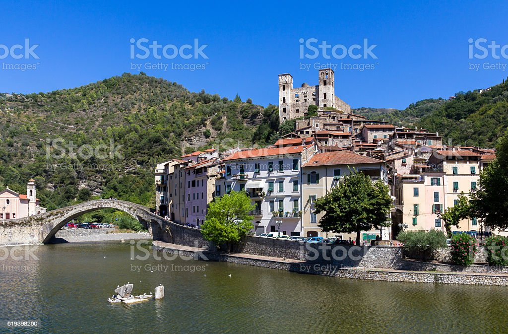 Dolceacqua, Imperia (ITALY) stock photo