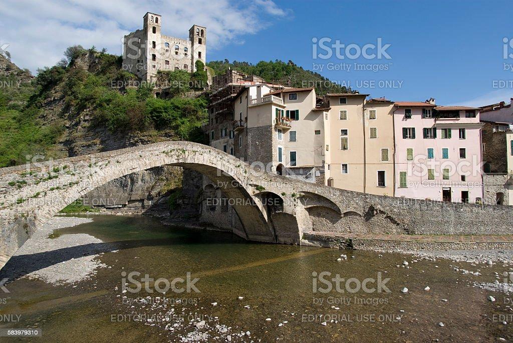 Dolceacqua, Province of Imperia, Italy stock photo