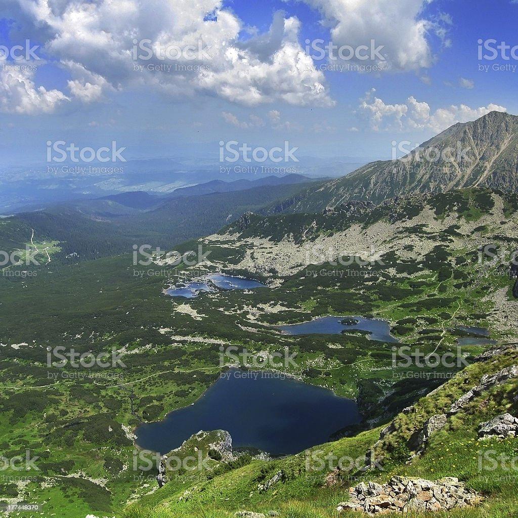 Dolina Gasienicowa royalty-free stock photo