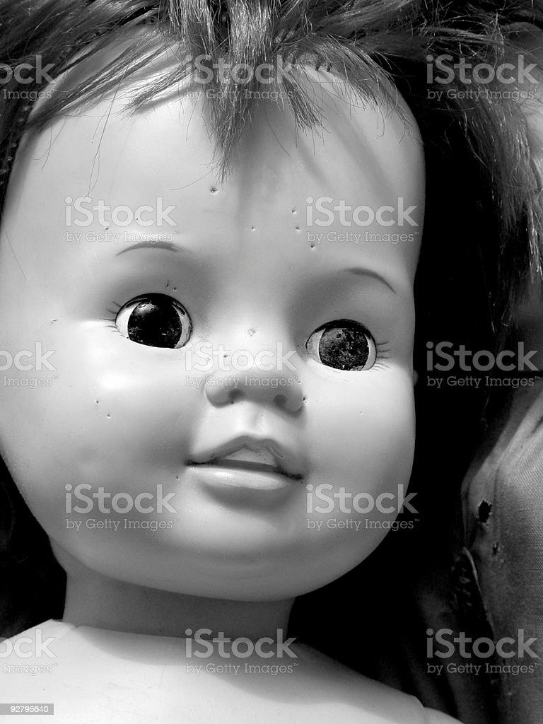 Doll Closeup stock photo