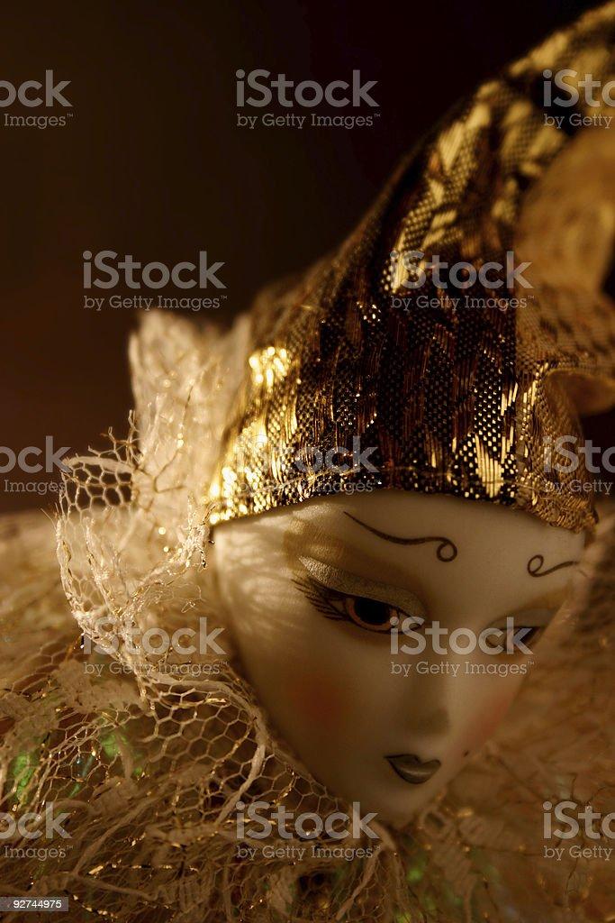 Doll study 05 royalty-free stock photo
