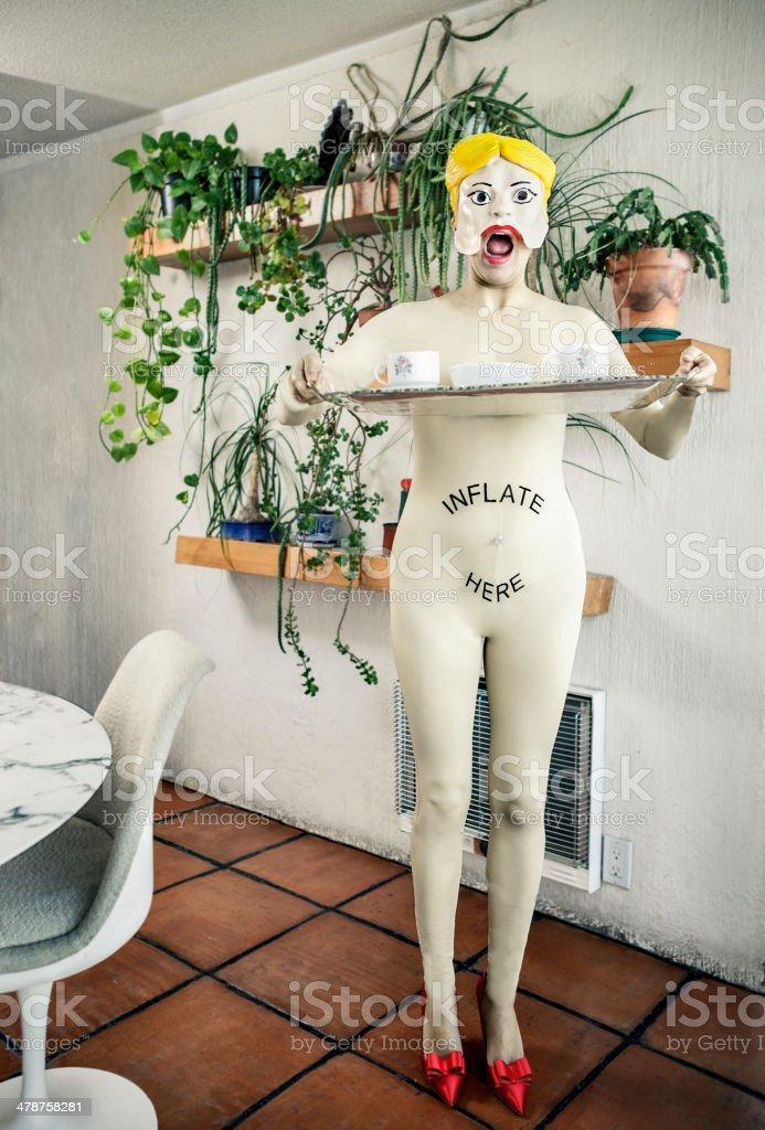 doll woman stock photo