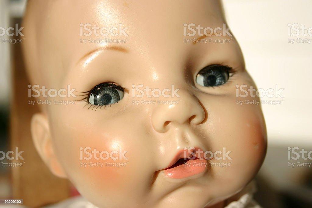 doll_face_Victoria stock photo