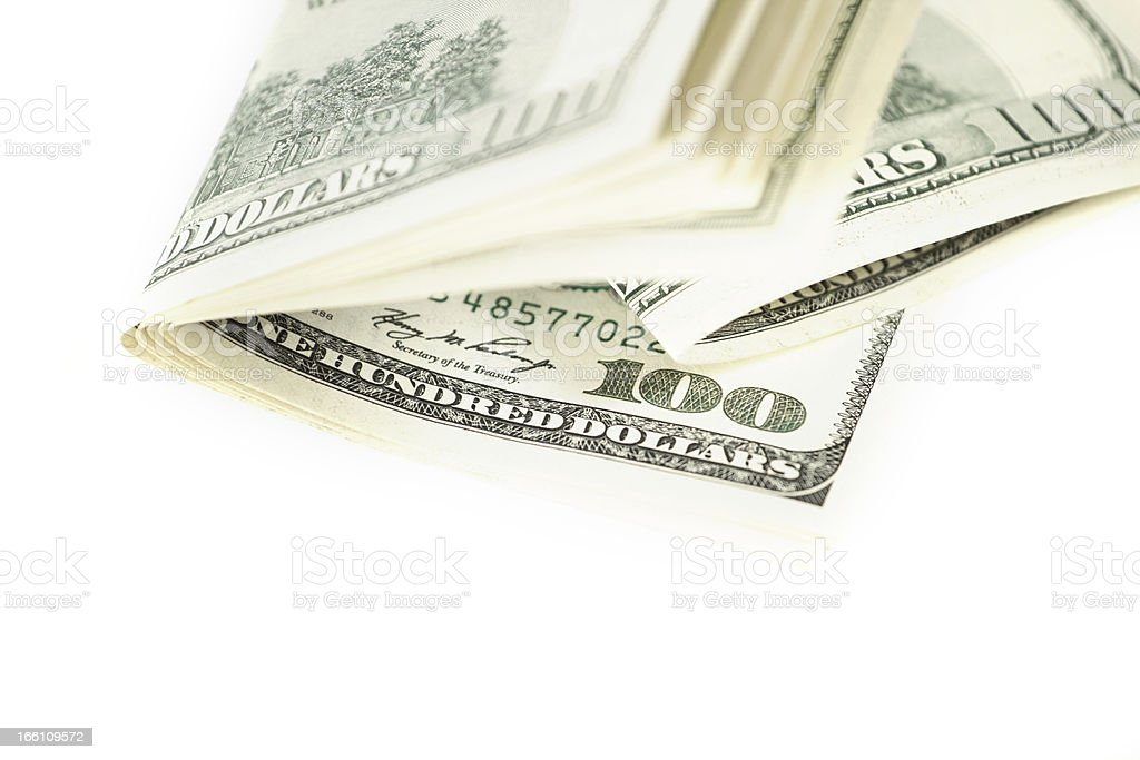 Dollar Abstract Background royalty-free stock photo