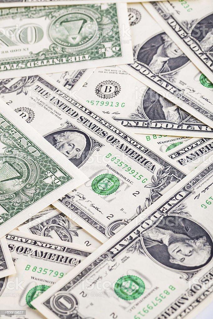dollar background stock photo