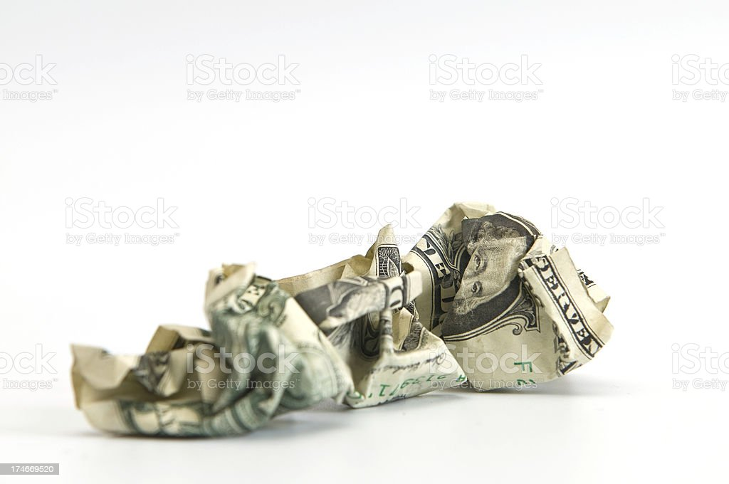 Dollar bill royalty-free stock photo
