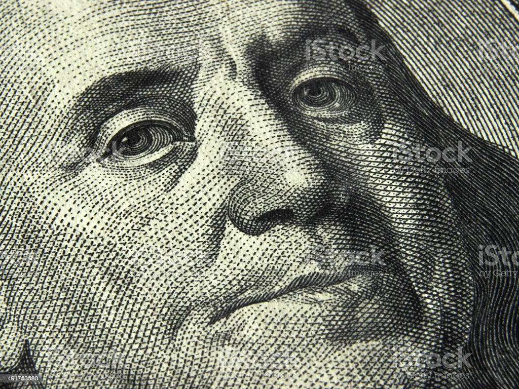 US dollar bill stock photo