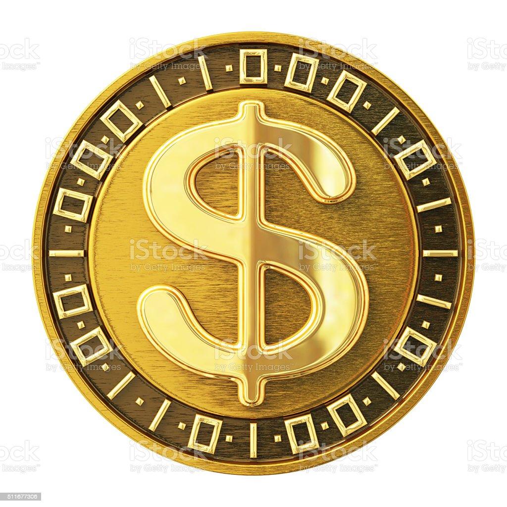 Dollar Coin stock photo
