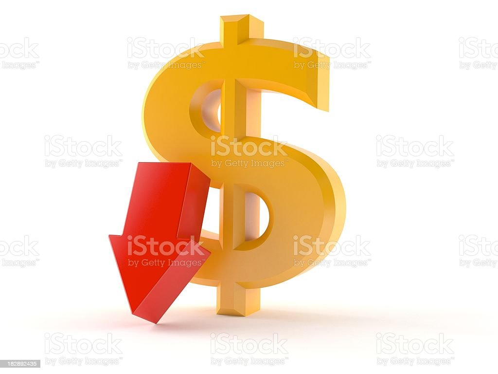 Dollar currency royalty-free stock photo