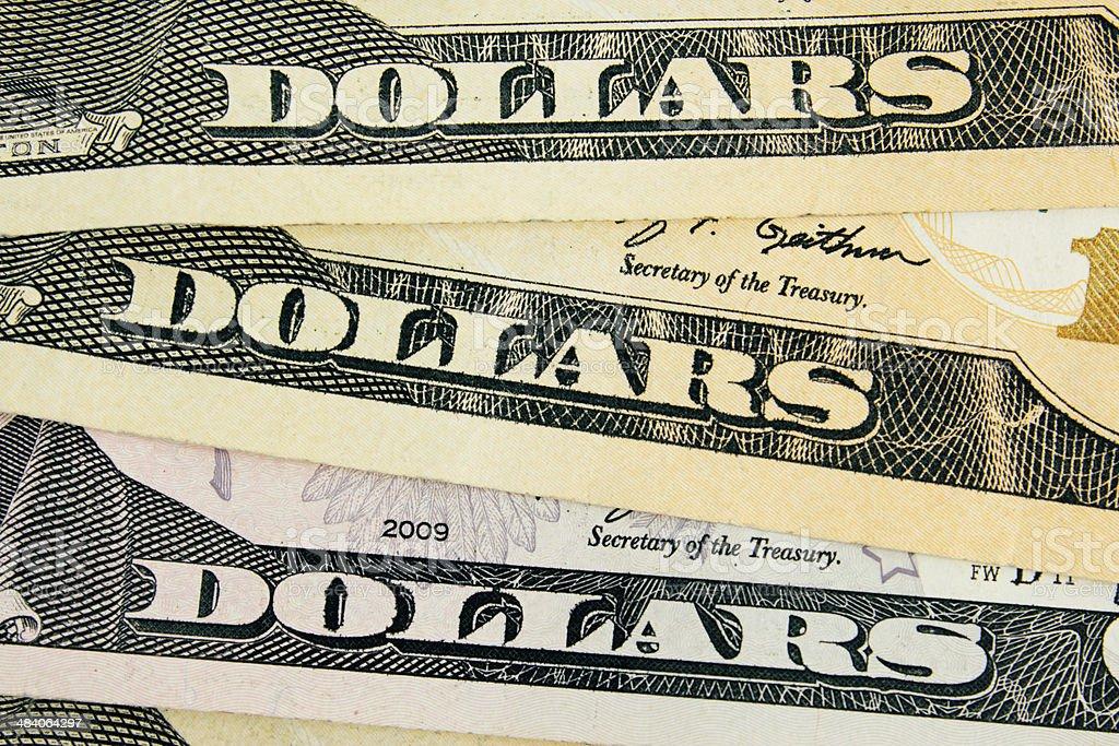dollar detail royalty-free stock photo