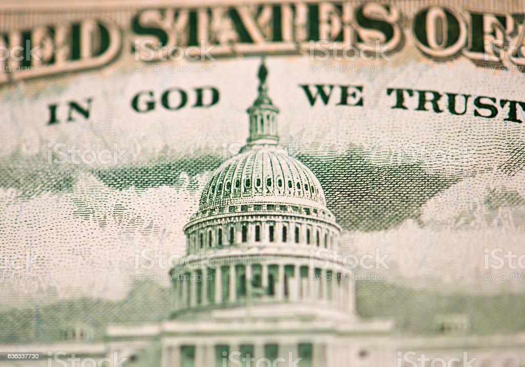 Dollar Detail stock photo