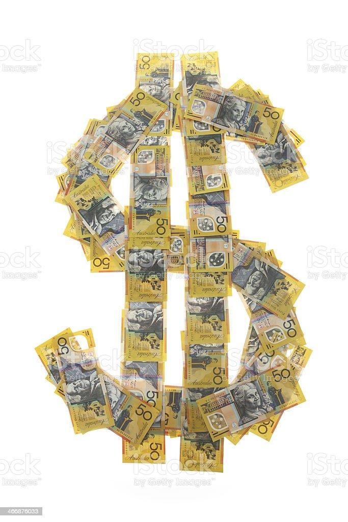 Dollar Dollars royalty-free stock photo