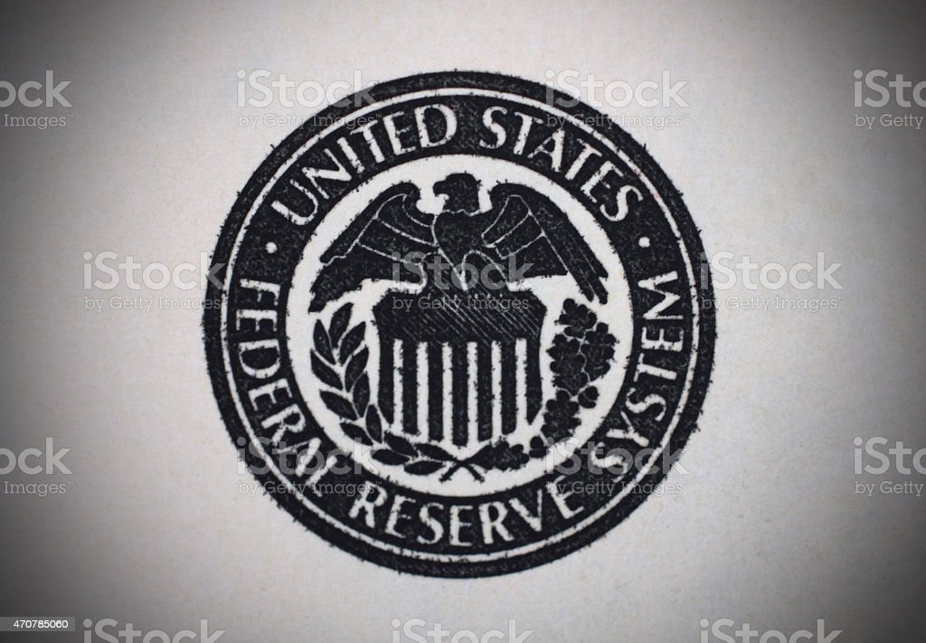 US dollar eagle stock photo