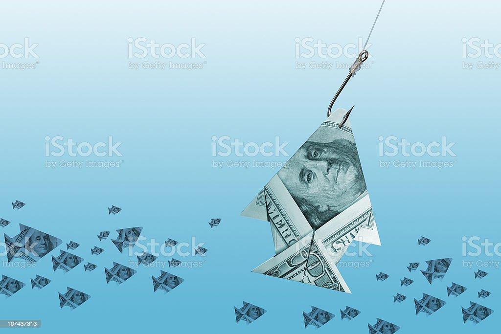 Dollar Fish stock photo
