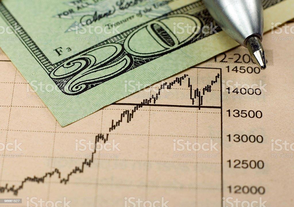 Dollar Investing stock photo