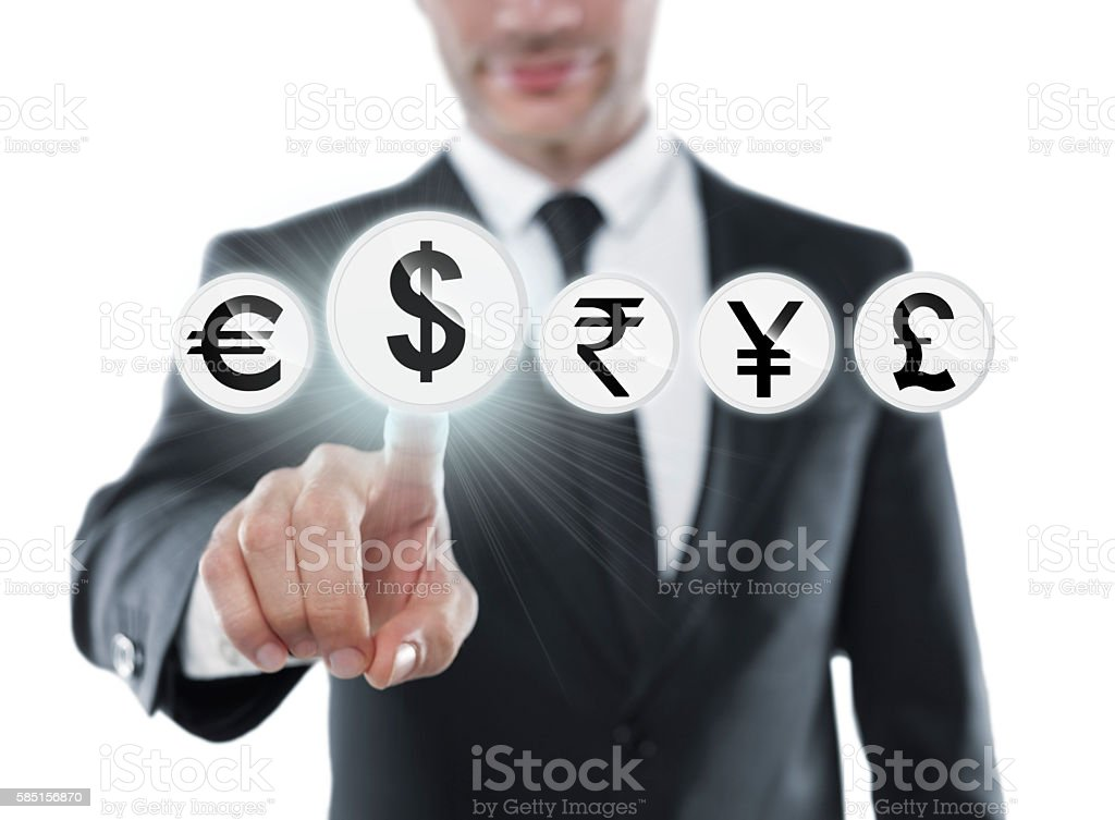 Dollar investor stock photo