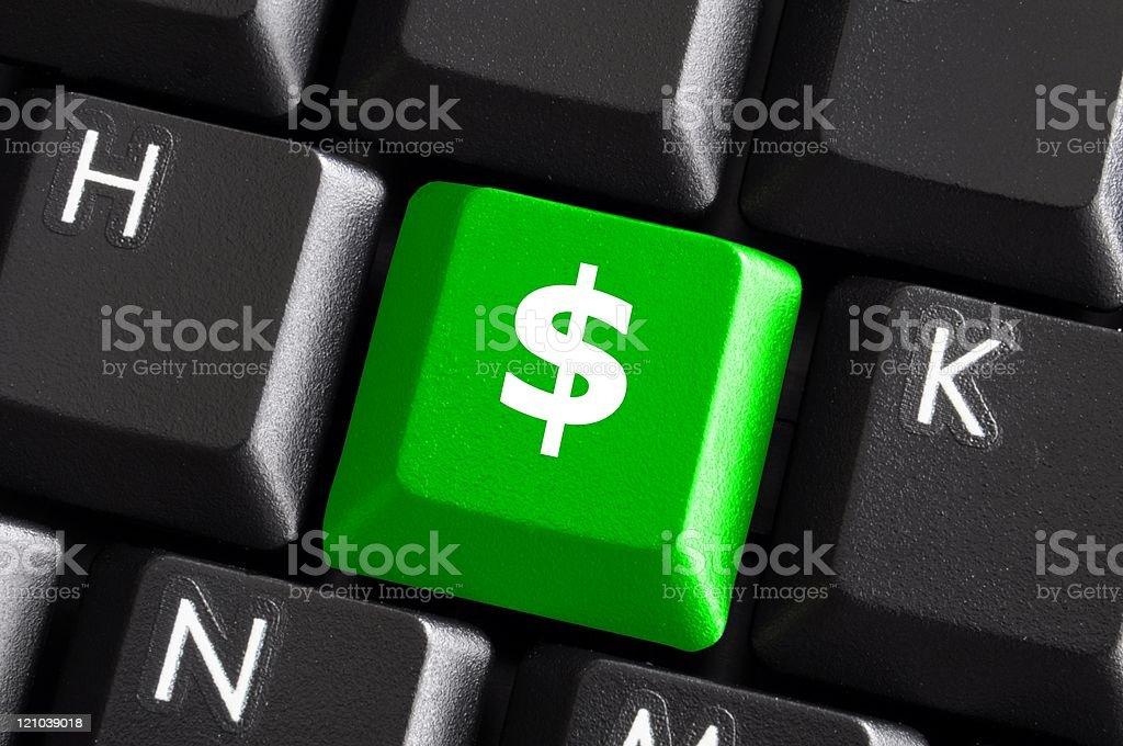 dollar money concept royalty-free stock photo