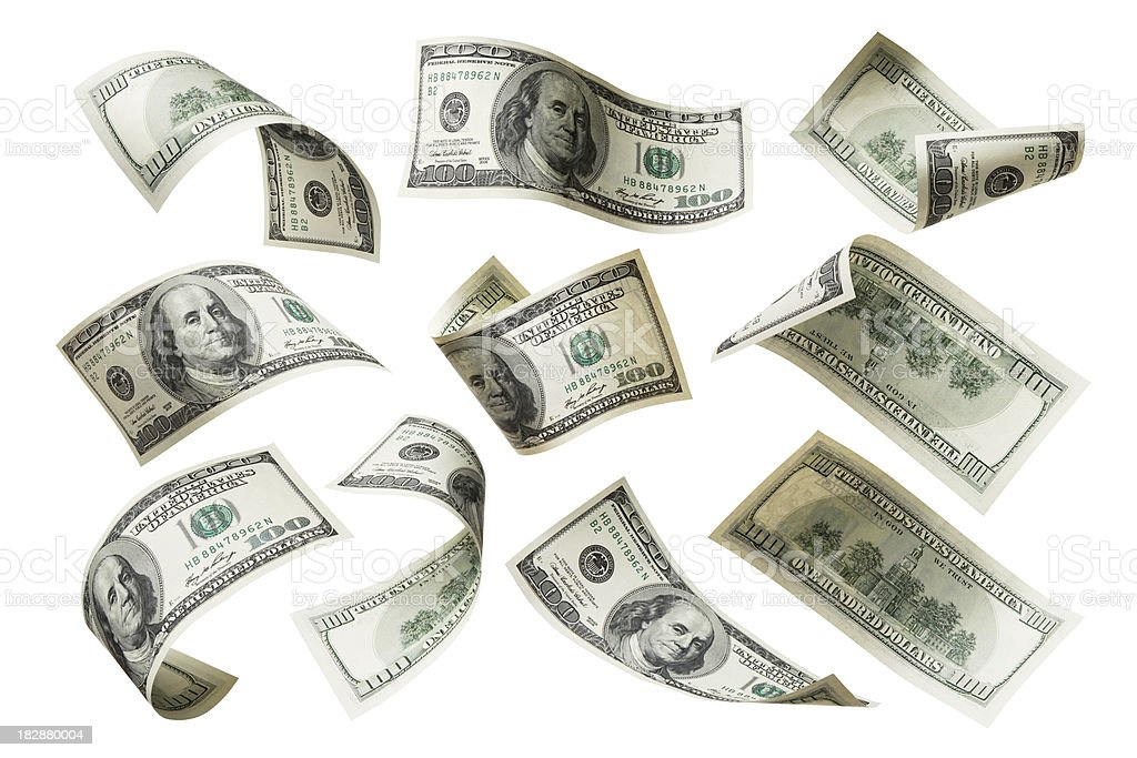 US dollar note royalty-free stock photo