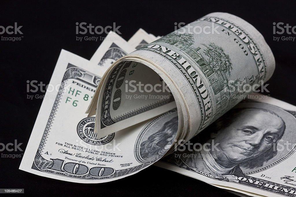Dólar dos Estados Unidos foto de stock royalty-free