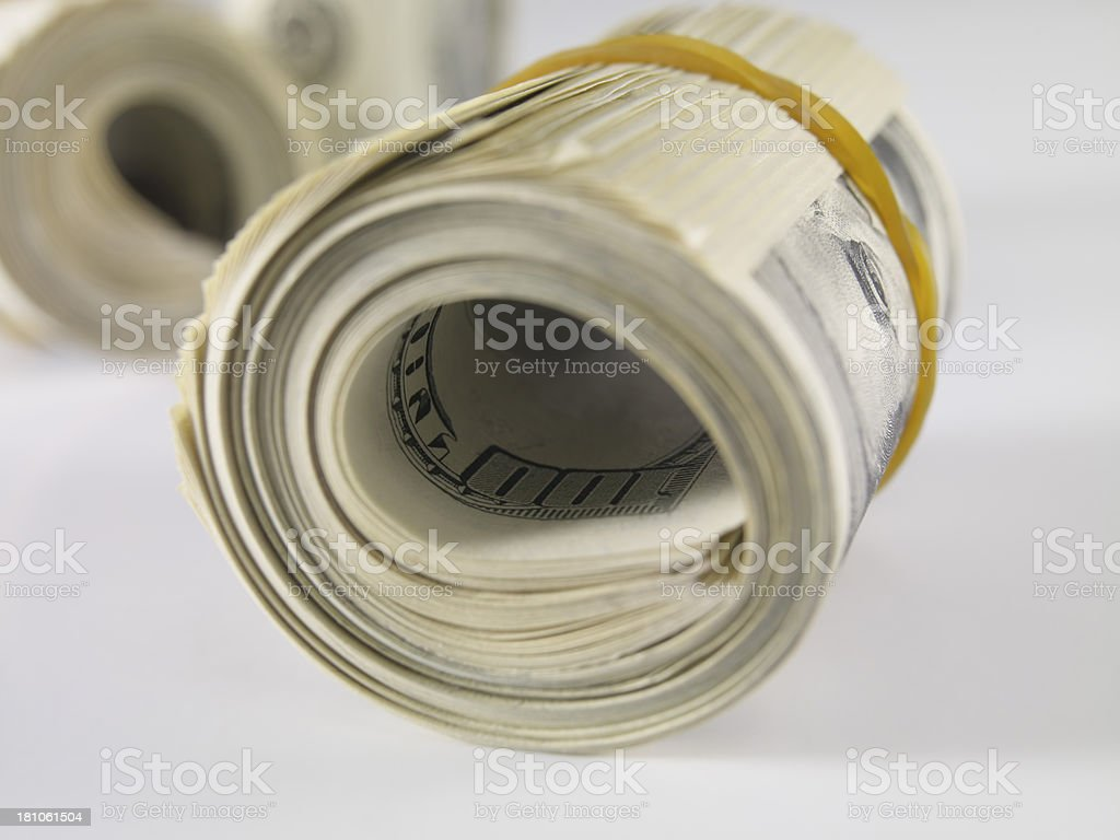 Dollar Pile royalty-free stock photo