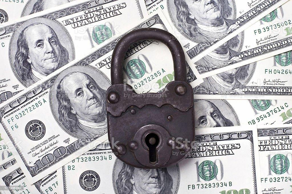 Dollar Safe royalty-free stock photo