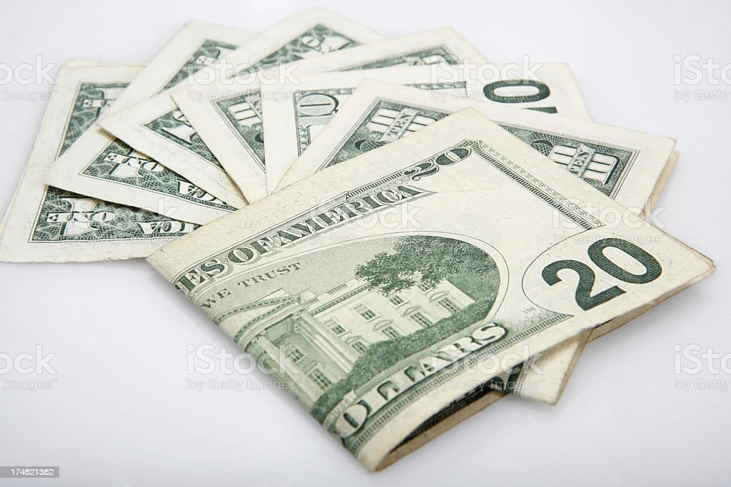 dollar series royalty-free stock photo