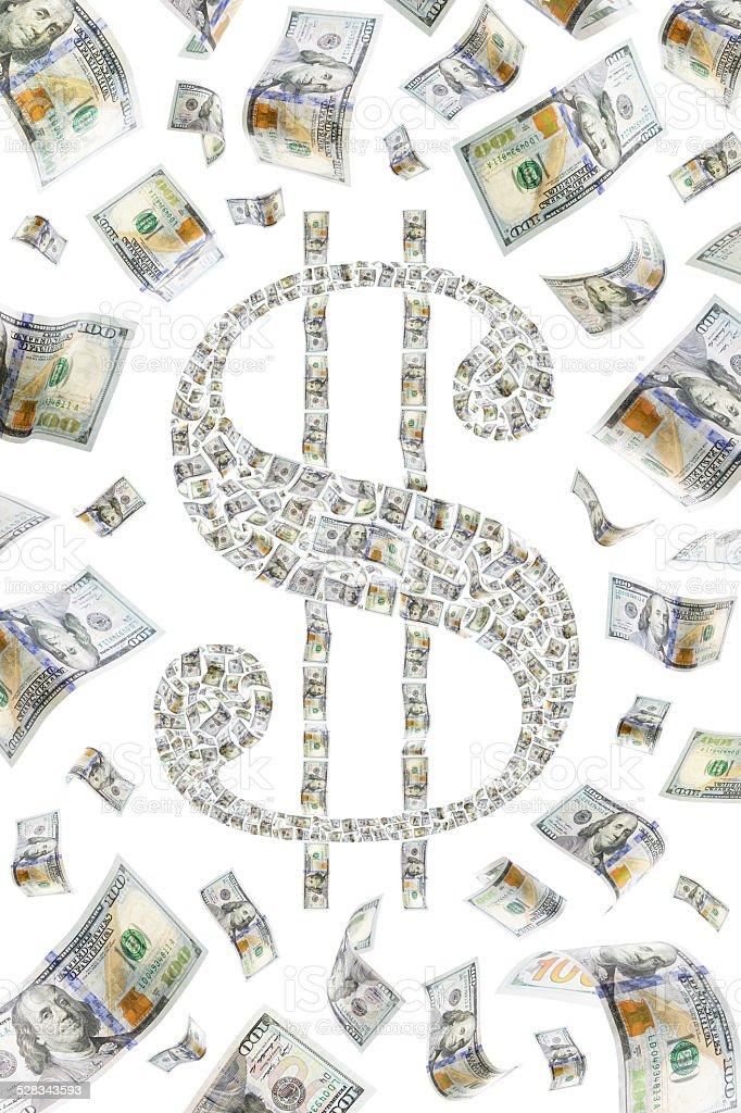 Dollarsymbol Lizenzfreies stock-foto