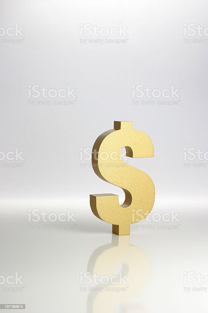 Dollar Sign Symbol royalty-free stock photo