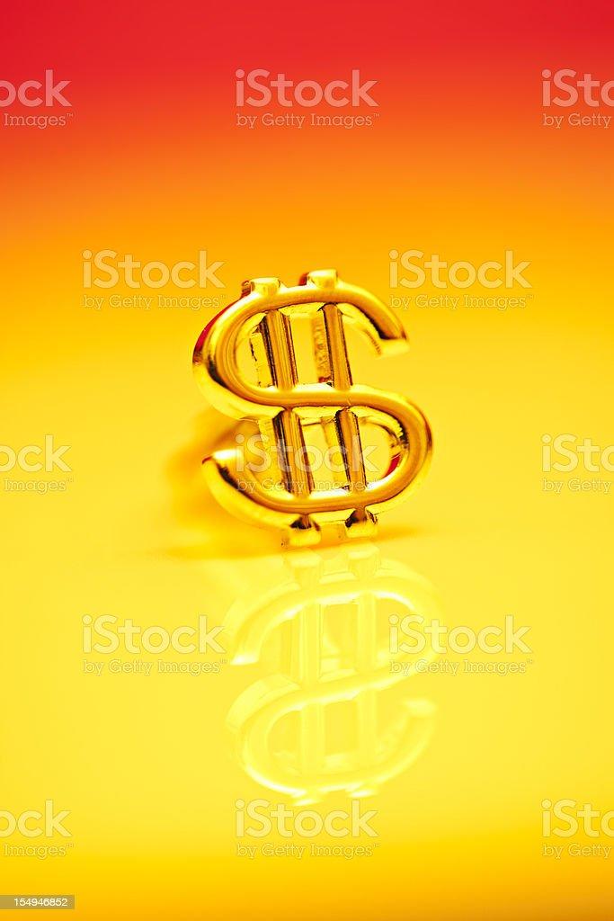 Dollar symbol royalty-free stock photo
