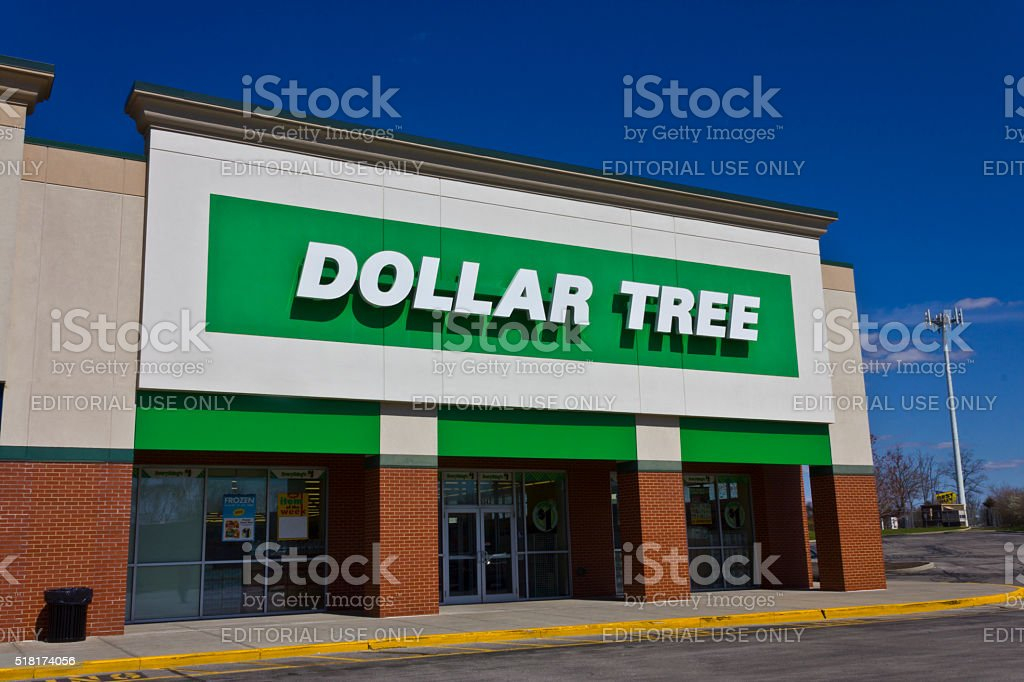 Indianapolis - March 2016: Dollar Tree Discount Store I stock photo