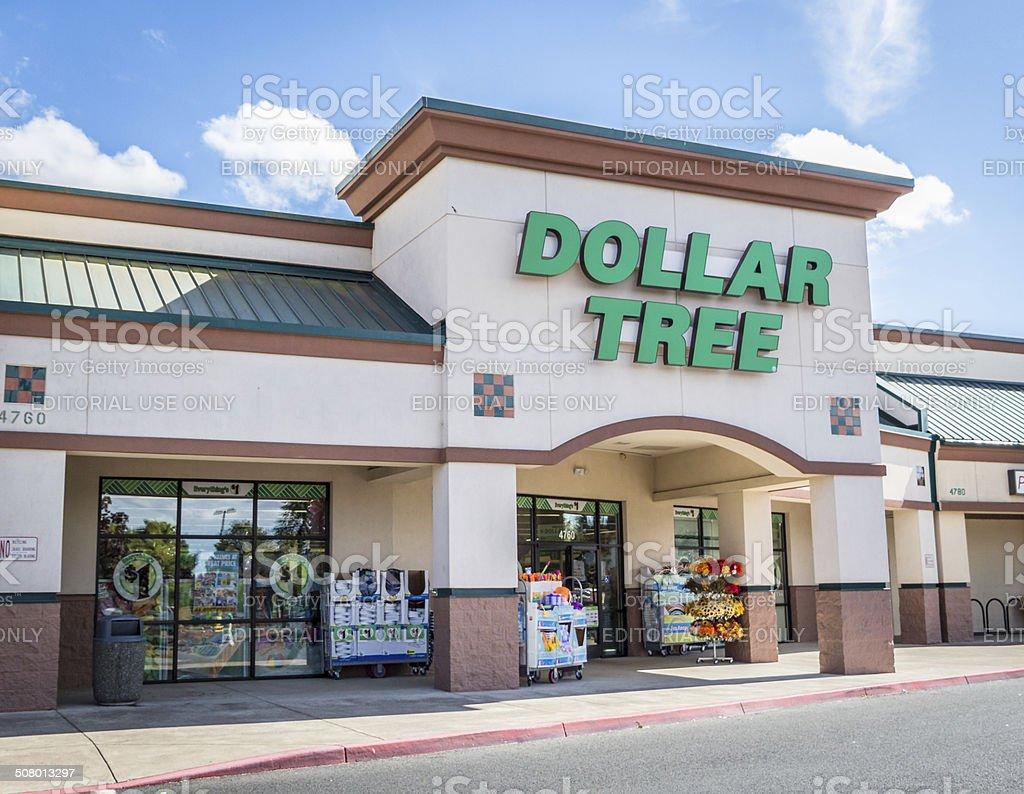 Dollar Tree stock photo