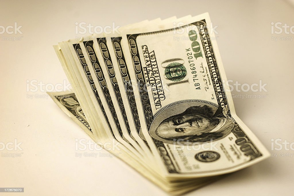 Dollar U$ 1000 !! royalty-free stock photo