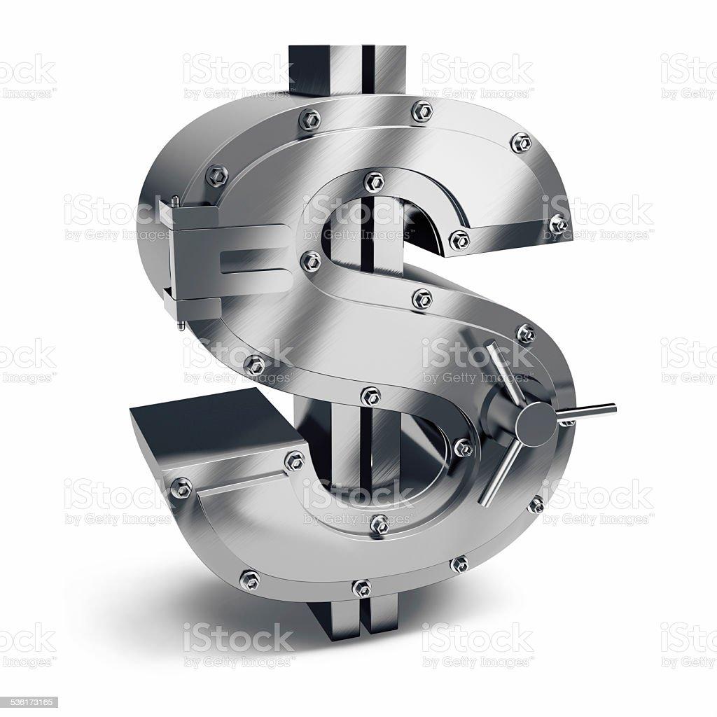 Dollar Vault stock photo