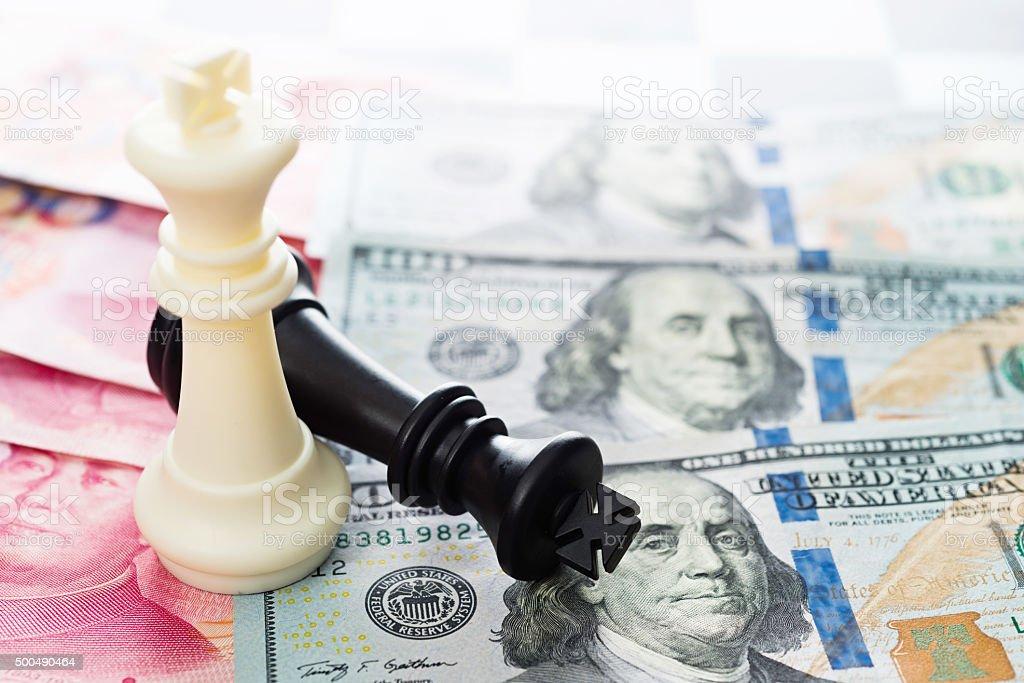 Resultado de imagen para el dolar frente al yuan