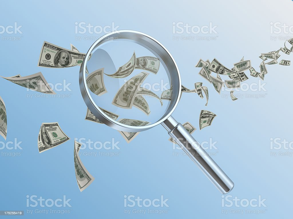 dollars  currency royalty-free stock photo