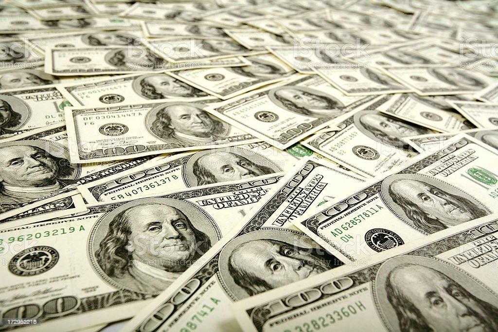 Dollars Flow stock photo