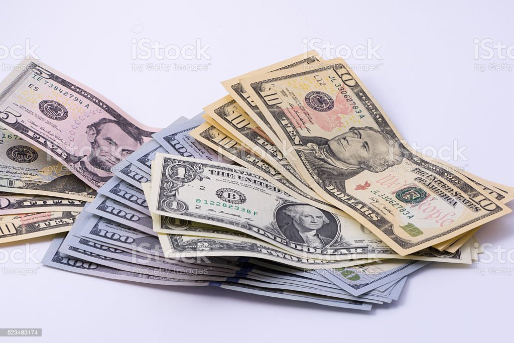 Dollars Group stock photo