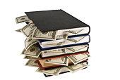 Dollars in book