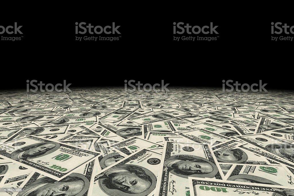 USA dollars money background. stock photo