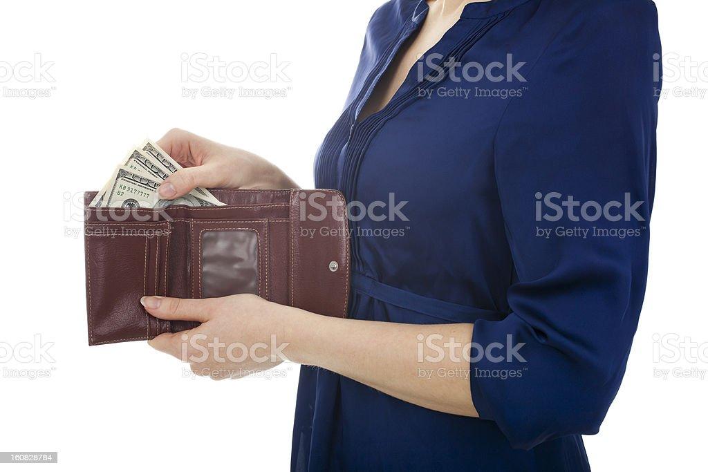 Dollars royalty-free stock photo
