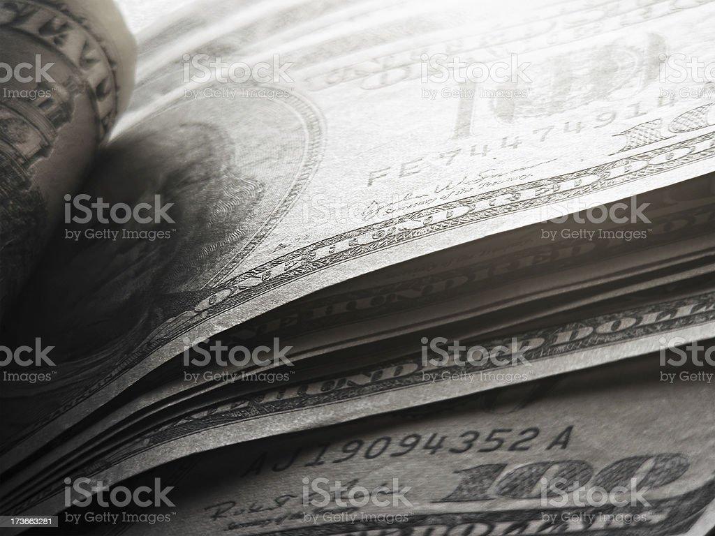 US dollars. royalty-free stock photo