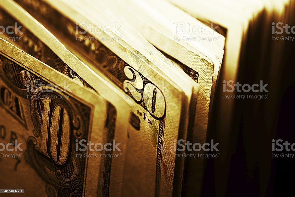 Dollars. royalty-free stock photo