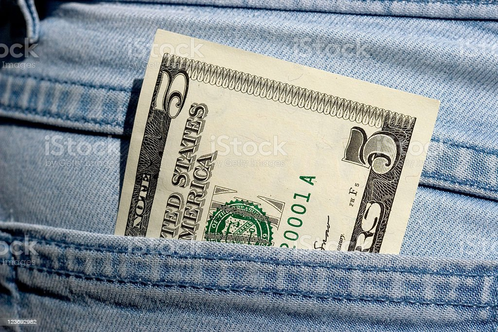 Dollars series royalty-free stock photo