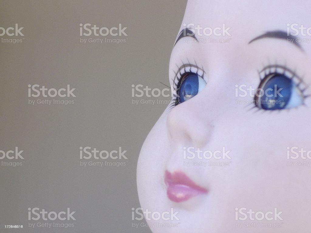 Dollface stock photo